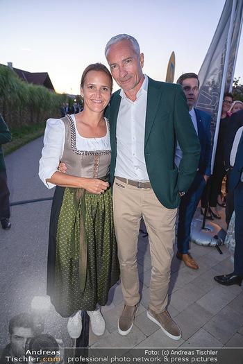 Mikl-Leitner Heurigenempfang - Der Fuchs Heuriger, Maria Enzersdorf - Do 09.09.2021 - Eva und Rainer PARIASEK65