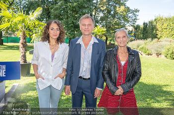 ORF Serienmontag Pressetermin - Interspot Filmstudios - Fr 10.09.2021 - Proschat MADANI, Robert STADLOBER, Kathrin ZECHNER2