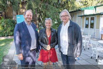 ORF Serienmontag Pressetermin - Interspot Filmstudios - Fr 10.09.2021 - Kathrin ZECHNER, Niki KLINGOHR, Danny KRAUSZ7