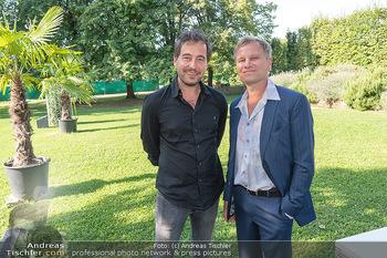 ORF Serienmontag Pressetermin - Interspot Filmstudios - Fr 10.09.2021 - Clemens BERNDORFF, Robert STADLOBER14