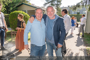 ORF Serienmontag Pressetermin - Interspot Filmstudios - Fr 10.09.2021 - Robert PALFRADER, Gregor SEBERG21
