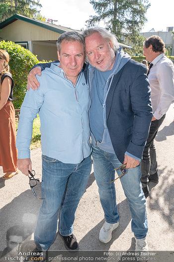 ORF Serienmontag Pressetermin - Interspot Filmstudios - Fr 10.09.2021 - Robert PALFRADER, Gregor SEBERG22
