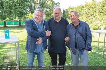 ORF Serienmontag Pressetermin - Interspot Filmstudios - Fr 10.09.2021 - Gregor SEBERG, Günther LAINER, Andreas VITASEK23