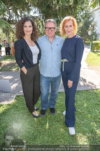 ORF Serienmontag Pressetermin - Interspot Filmstudios - Fr 10.09.2021 - Proschat MADANI, Robert PALFRADER, Nicole BEUTLER48