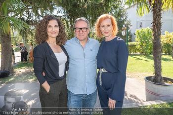 ORF Serienmontag Pressetermin - Interspot Filmstudios - Fr 10.09.2021 - Proschat MADANI, Robert PALFRADER, Nicole BEUTLER49