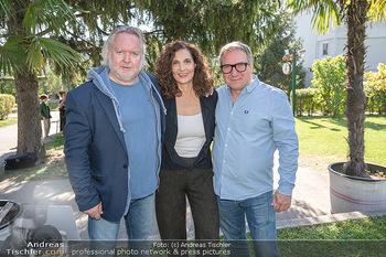 ORF Serienmontag Pressetermin - Interspot Filmstudios - Fr 10.09.2021 - Gregor SEBERG, Proschat MADANI, Robert PALFRADER51