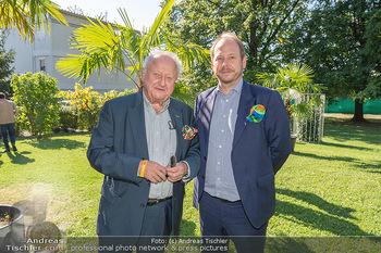 ORF Serienmontag Pressetermin - Interspot Filmstudios - Fr 10.09.2021 - Rudolf Purzel KLINGOHR mit Sohn Niki KLINGOHR54