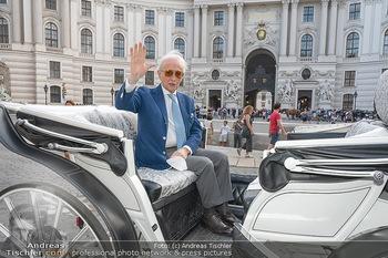 Jose Carreras Pressetermin - Chopard - Sa 11.09.2021 - Jose CARRERAS im Fiaker, Kutsche1