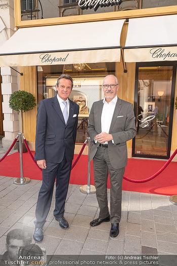 Jose Carreras Pressetermin - Chopard - Sa 11.09.2021 - Thomas KOBLMÜLLER, Siegfried MERYN2