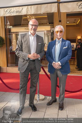 Jose Carreras Pressetermin - Chopard - Sa 11.09.2021 - Jose CARRERAS, Siegfried MERYN22