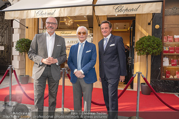 Jose Carreras Pressetermin - Chopard - Sa 11.09.2021 - Jose CARRERAS, Thomas KOBLMÜLLER, Siegfried MERYN24