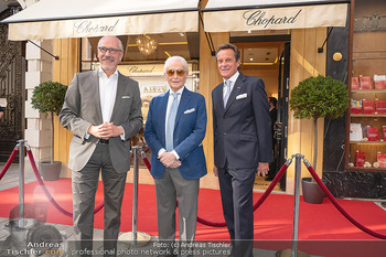 Jose Carreras Pressetermin - Chopard - Sa 11.09.2021 - Jose CARRERAS, Thomas KOBLMÜLLER, Siegfried MERYN25