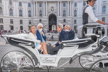Jose Carreras Pressetermin - Chopard - Sa 11.09.2021 - Jose CARRERAS, Sohn Albert, Ehefrau Ingrid SALVADO, Peter KUPFER67