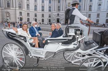 Jose Carreras Pressetermin - Chopard - Sa 11.09.2021 - Jose CARRERAS, Sohn Albert, Ehefrau Ingrid SALVADO, Peter KUPFER70