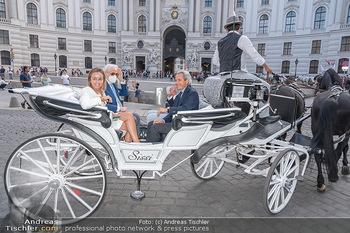 Jose Carreras Pressetermin - Chopard - Sa 11.09.2021 - Jose CARRERAS, Sohn Albert, Ehefrau Ingrid SALVADO, Peter KUPFER71