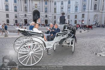 Jose Carreras Pressetermin - Chopard - Sa 11.09.2021 - Jose CARRERAS, Sohn Albert, Ehefrau Ingrid SALVADO, Peter KUPFER72