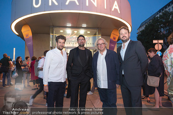 Kinopremiere ´Die Schachnovelle´ - Urania Kino - Mo 13.09.2021 - Philipp WORM, Philipp STÖLZL, Danny KRAUSZ, Tobias WALKER18