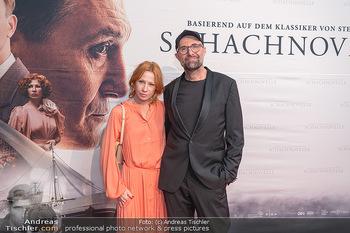 Kinopremiere ´Die Schachnovelle´ - Urania Kino - Mo 13.09.2021 - Birgit MINICHMAYR, Philipp STÖLZL30