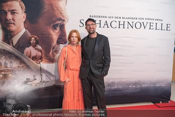 Kinopremiere ´Die Schachnovelle´ - Urania Kino - Mo 13.09.2021 - Birgit MINICHMAYR, Philipp STÖLZL31