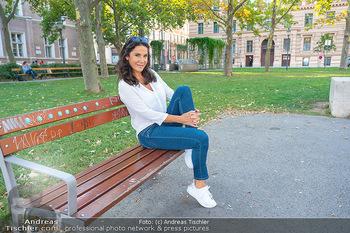 Fototermin Mariella Ahrens - Park hinterm Ritz, Wien - Di 14.09.2021 - Mariella AHRENS24