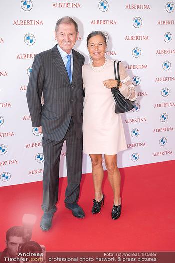 Fundraising Dinner - Albertina, Wien - Di 14.09.2021 - Doris FELBER mit Ehemann5