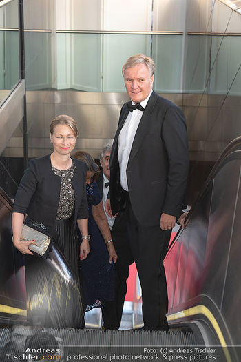 Fundraising Dinner - Albertina, Wien - Di 14.09.2021 - Klaus Albrecht SCHRÖDER mit Ehefrau Nina13