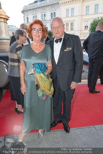 Fundraising Dinner - Albertina, Wien - Di 14.09.2021 - Inge und Rudolf Purzel KLINGOHR28