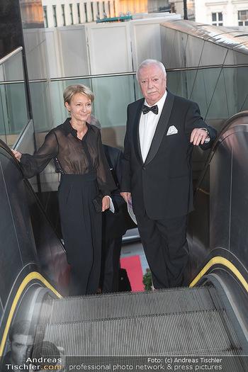 Fundraising Dinner - Albertina, Wien - Di 14.09.2021 - Michael HÄUPL mit Ehefrau Barbara HÖRNLEIN30