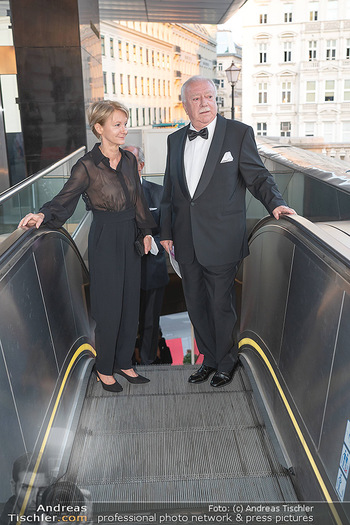Fundraising Dinner - Albertina, Wien - Di 14.09.2021 - Michael HÄUPL mit Ehefrau Barbara HÖRNLEIN31