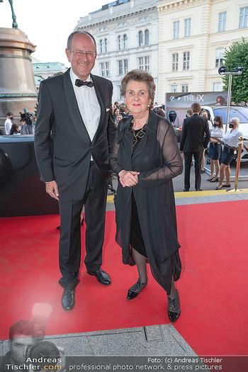 Fundraising Dinner - Albertina, Wien - Di 14.09.2021 - Helga RABL-STADLER mit Begleitung33