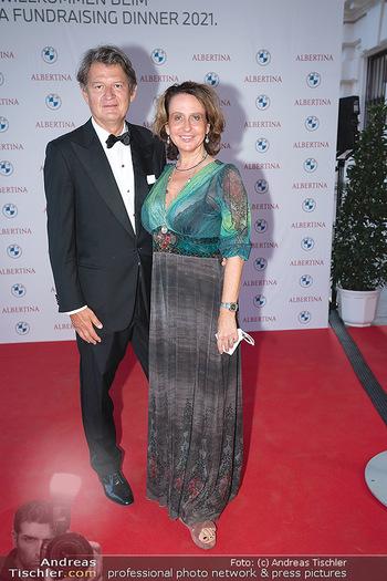 Fundraising Dinner - Albertina, Wien - Di 14.09.2021 - Helmut BRANDSTÄTTER, Patricia PAWLICKI56