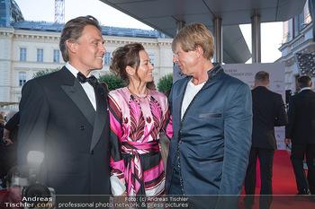 Fundraising Dinner - Albertina, Wien - Di 14.09.2021 - Birgit LAUDA mit neuem Freund Markus SIEBERER, Dominic HEINZL60