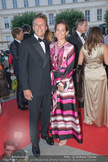 Fundraising Dinner - Albertina, Wien - Di 14.09.2021 - Birgit LAUDA mit neuem Freund Markus SIEBERER61