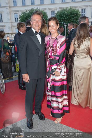 Fundraising Dinner - Albertina, Wien - Di 14.09.2021 - Birgit LAUDA mit neuem Freund Markus SIEBERER62