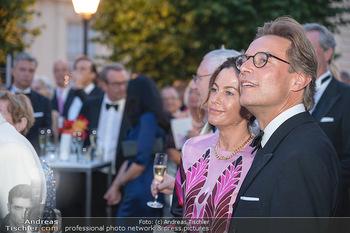 Fundraising Dinner - Albertina, Wien - Di 14.09.2021 - Birgit LAUDA mit neuem Freund Markus SIEBERER70