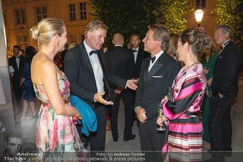 Fundraising Dinner - Albertina, Wien - Di 14.09.2021 - Christoph und Eva DICHAND, Birgit LAUDA, Markus SIEBERER91