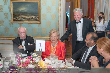 Fundraising Dinner - Albertina, Wien - Di 14.09.2021 - Michael HÄUPL, Rotraud KONRAD, Herbert FÖTTINGER117