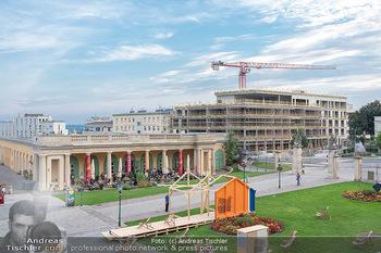 Herbstgold Festival Eröffnung - Schloss Esterhazy, Eisenstadt - Mi 15.09.2021 - Architektur alt und neu (Hintergrund Baustelle neues Hotel)33