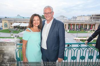 Herbstgold Festival Eröffnung - Schloss Esterhazy, Eisenstadt - Mi 15.09.2021 - Thomas STEINER mit Ehefrau61