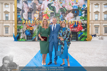 90 Jahre GW Cosmetics - Gartenpalais Liechtenstein, Wien - Do 16.09.2021 - Christine REILER, Rainer DEISENHAMMER mit Maria8