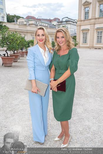 90 Jahre GW Cosmetics - Gartenpalais Liechtenstein, Wien - Do 16.09.2021 - Silvia SCHNEIDER, Christine REILER18