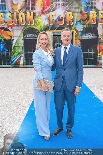 90 Jahre GW Cosmetics - Gartenpalais Liechtenstein, Wien - Do 16.09.2021 - Silvia SCHNEIDER, Rainer DEISENHAMMER20
