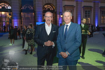 90 Jahre GW Cosmetics - Gartenpalais Liechtenstein, Wien - Do 16.09.2021 - Siegfried MERYN, Rainer DEISENHAMMER82