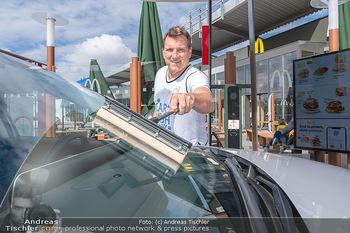 Carwash Day 2021 - McDonalds McDrive 1110 und 1220 Wien - Fr 17.09.2021 - Andi Andreas HERZOG1