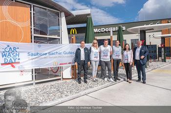 Carwash Day 2021 - McDonalds McDrive 1110 und 1220 Wien - Fr 17.09.2021 - 2