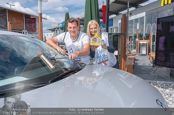 Carwash Day 2021 - McDonalds McDrive 1110 und 1220 Wien - Fr 17.09.2021 - Karin SCHMIDT, Andi Andreas HERZOG13