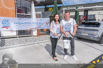 Carwash Day 2021 - McDonalds McDrive 1110 und 1220 Wien - Fr 17.09.2021 - 29