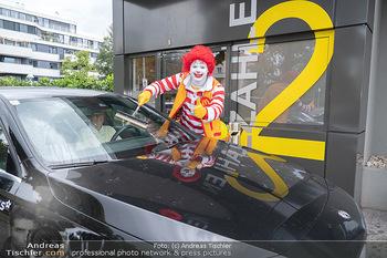 Carwash Day 2021 - McDonalds McDrive 1110 und 1220 Wien - Fr 17.09.2021 - Ronald McDonald60