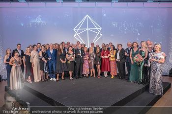 Schmuckstars Awards 2021 - Hotel Andaz, Wien - Sa 18.09.2021 - Gruppenfoto, Siegerfoto und Laudatoren, Schlussbild1