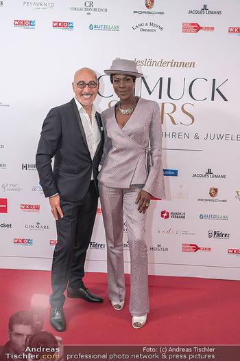 Schmuckstars Awards 2021 - Hotel Andaz, Wien - Sa 18.09.2021 - Doretta CARTER, Maruizio GIAMBRA4